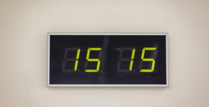 Significado de horas iguais