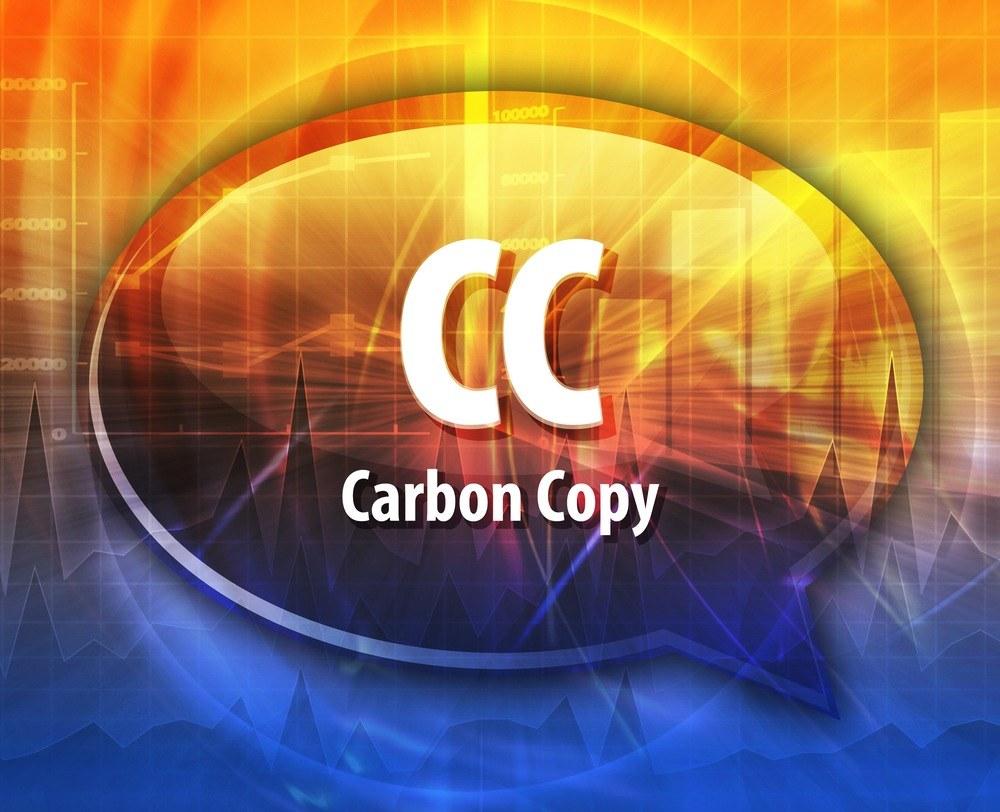 Significado de cc
